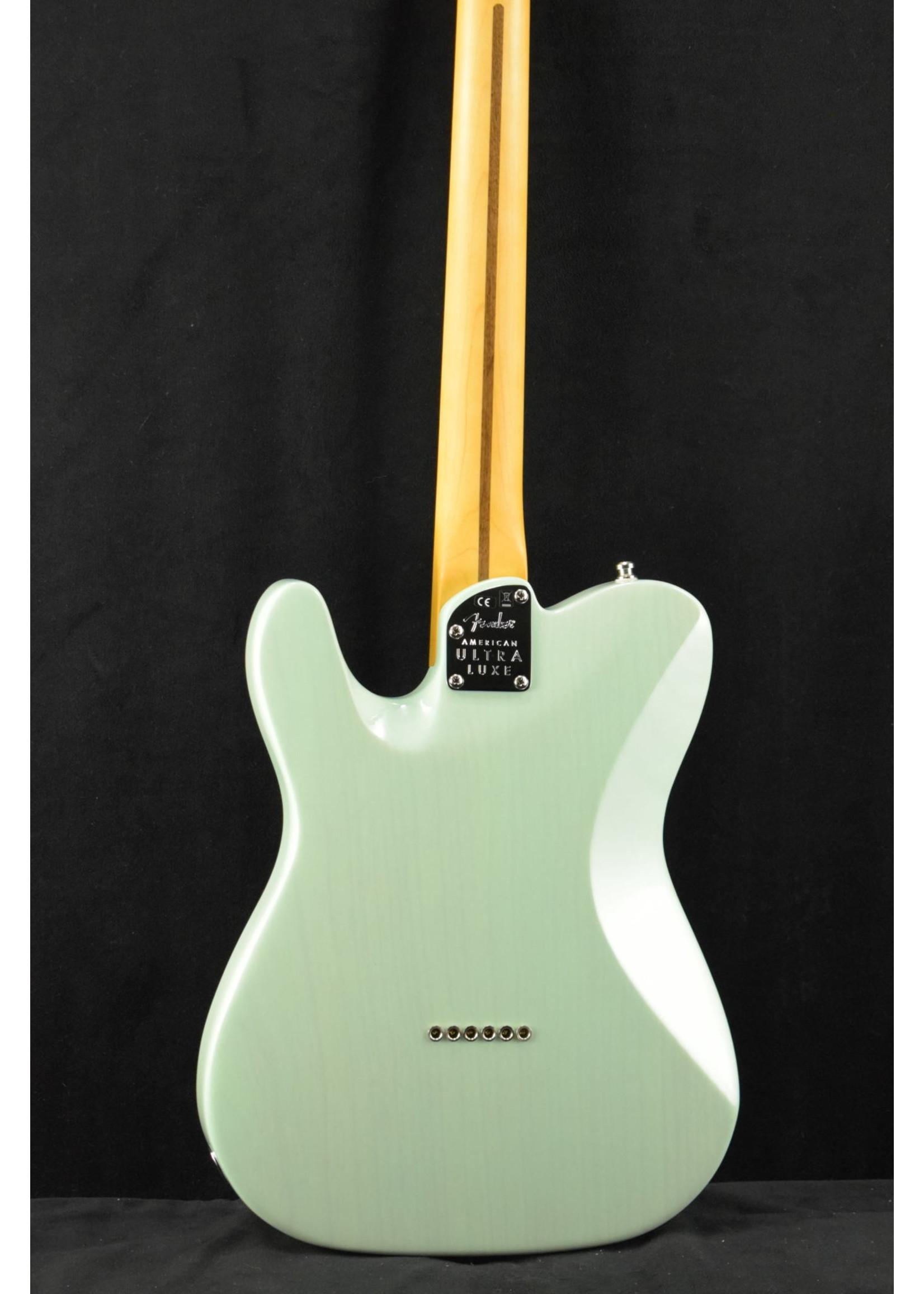 Fender Fender Ultra Luxe Telecaster Transparent Surf Green