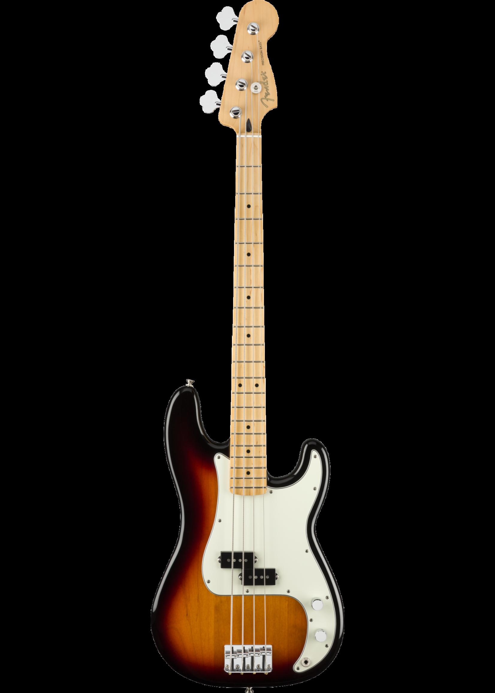 Fender Fender Player Precision Bass 3-Color Sunburst Maple Fingerboard