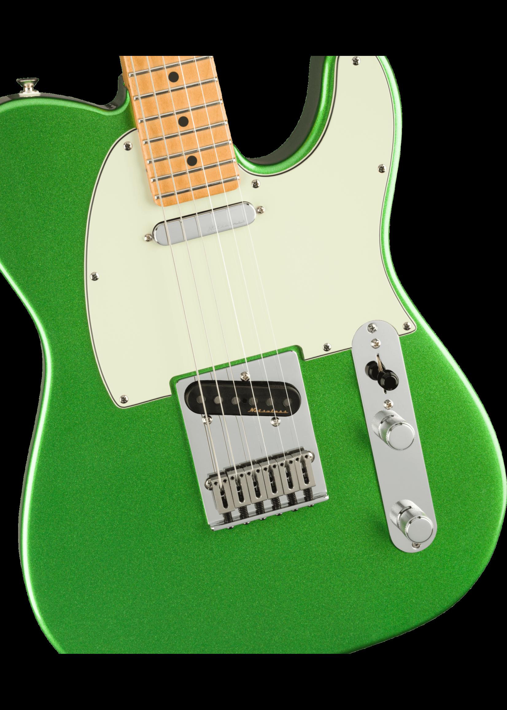 Fender Fender Player Plus Telecaster Maple Fingerboard Cosmic Jade