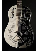 National National Style O 12-Fret Brass Body Nickel Plated Finish