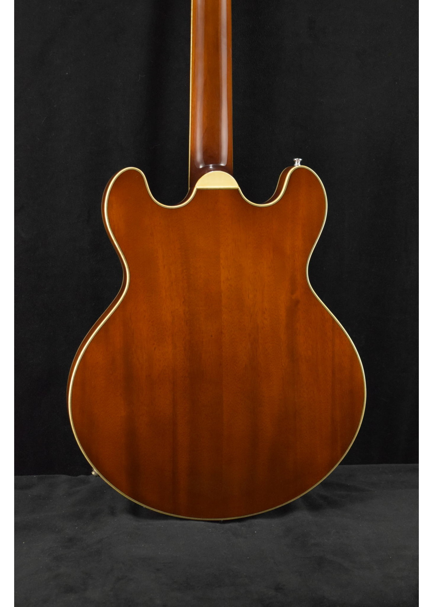 Eastman Eastman T185MX-GB All Solid Carved Series Thinline Goldburst Finish