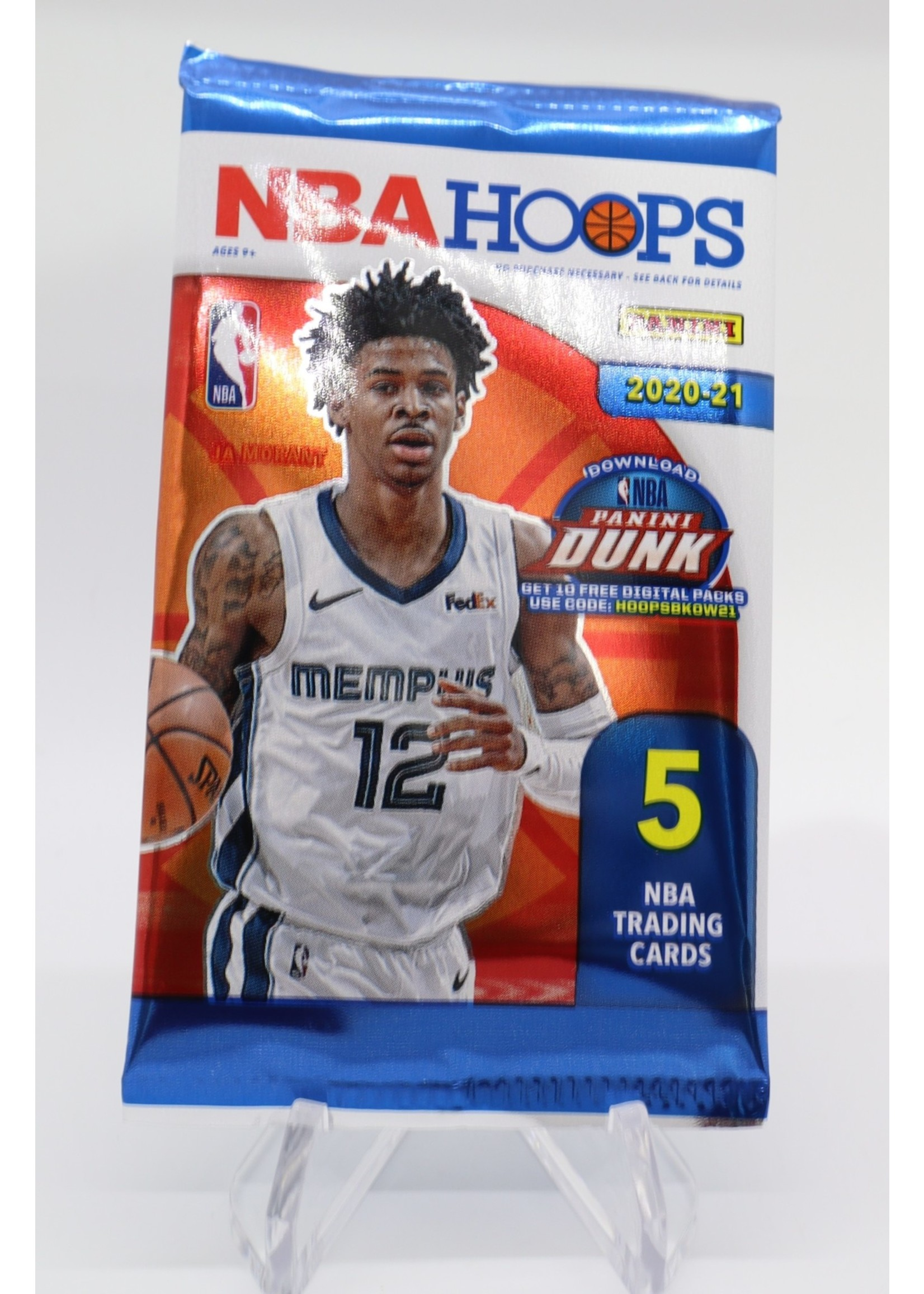 2020-21 NBA Hoops Gravity Feed Pack