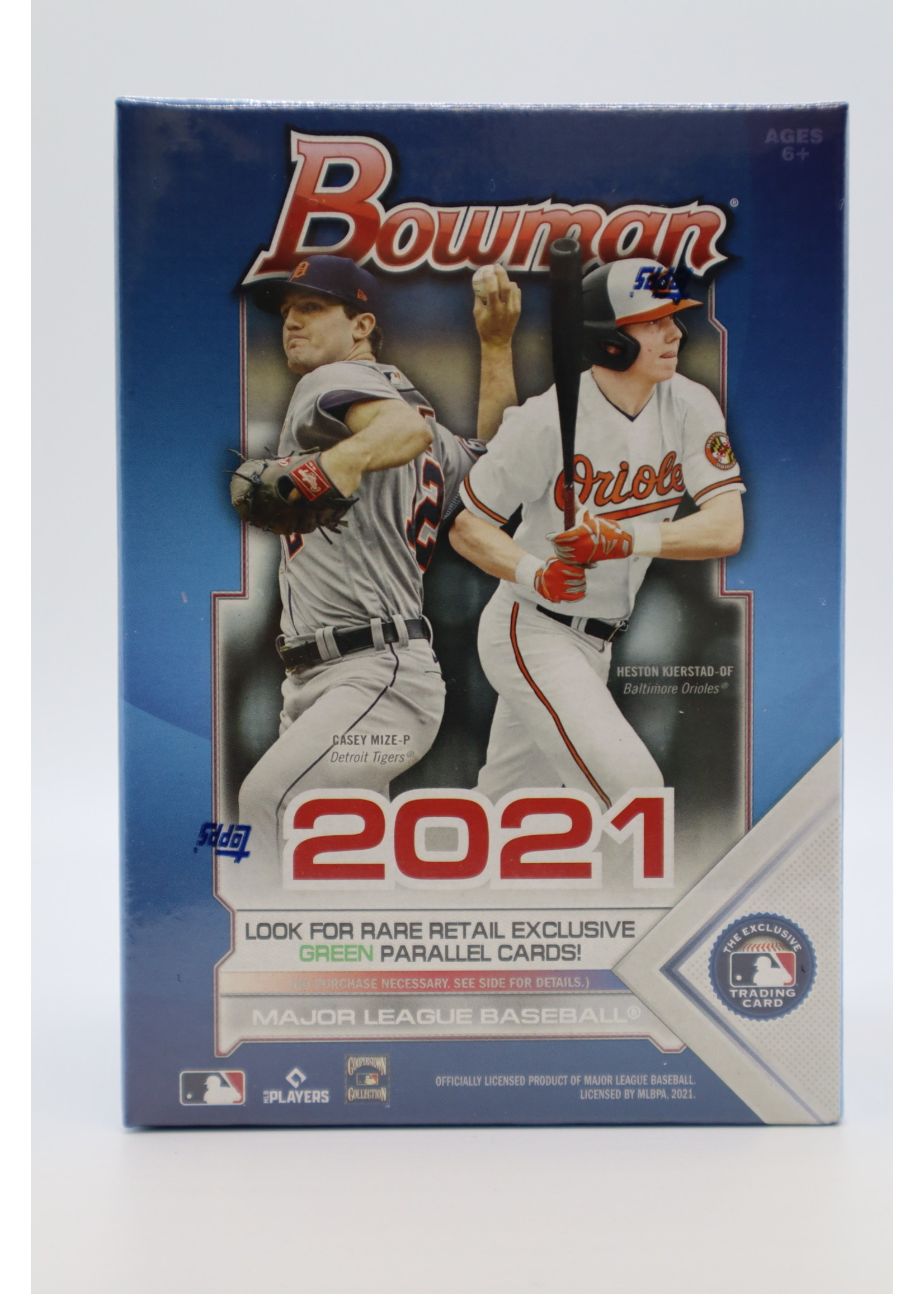 Topps 2021 MLB Bowman Hobby Box