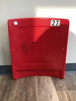 Michael Strahan Autographed Seat (Giants Stadium)