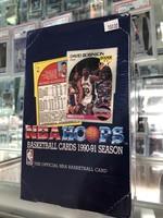 1990-91 NBA Hoops Basketball Wax Box Series 1