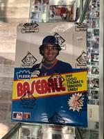 1989 Fleer Baseball Rack Box (24 Packs) BBCE Wrapped