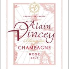 Alain Vincey Champagne Brut Rose NV