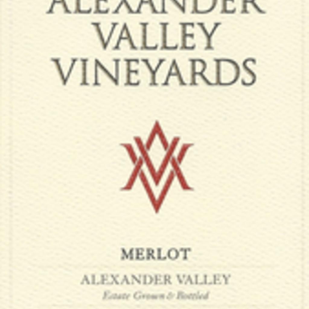 Alexander Valley Vineyards Merlot 2017/18