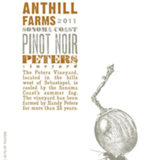 """Anthill Farms Winery """"Peters Vineyard"""" Pinot Noir 2019"""