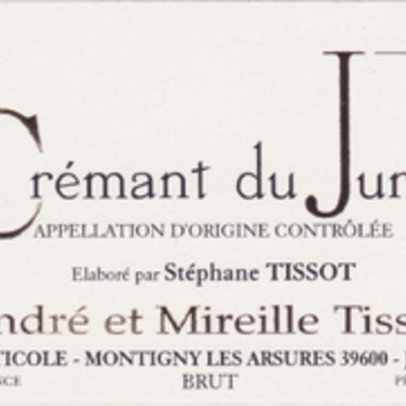 Benedicte et Stephane Tissot Cremant de Jura Brut NV