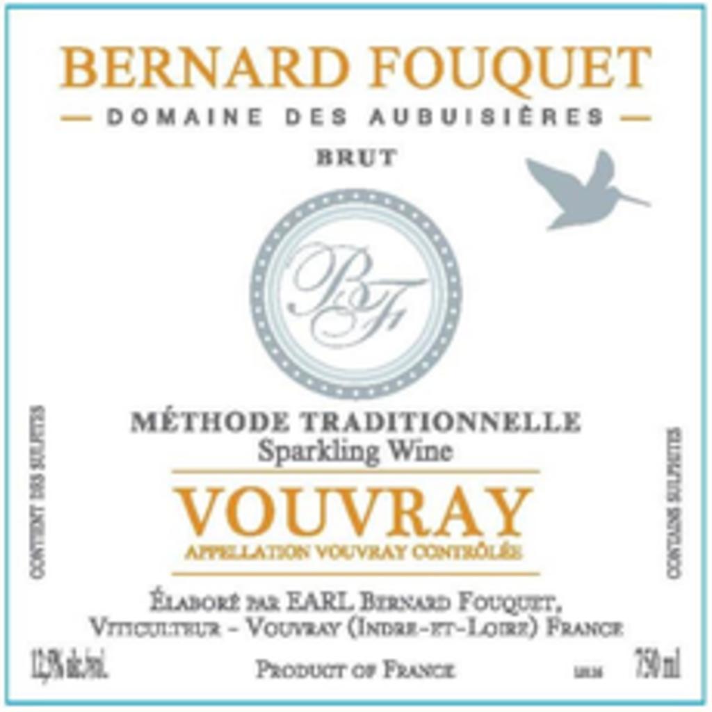Bernard Fouquet Vouvray Brut Methode Traditionnelle NV