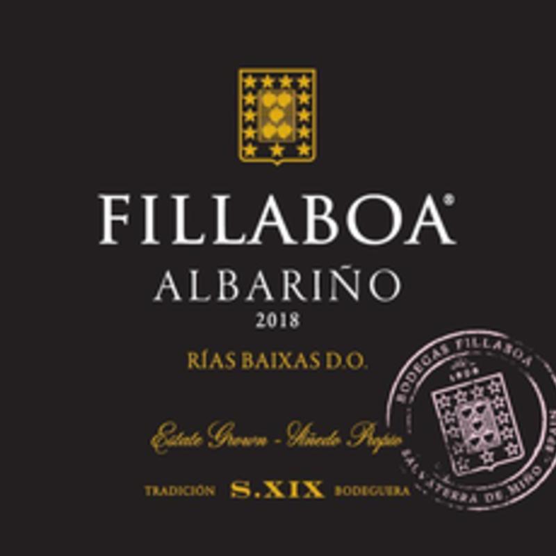 Bodegas Fillaboa Rias Baixas Albarino Estate Grown 2019