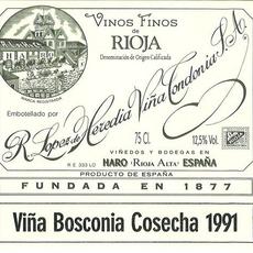 "Bodegas R. Lopez de Heredia Vina Tondonia ""Vina Bosconia"" Rioja Reserva Tinto 2008"
