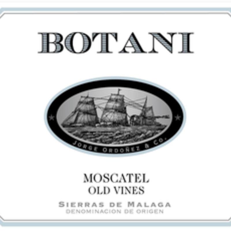 Botani Sierras de Malaga Moscatel Old Vines 2018