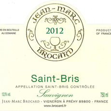 Brocard Saint Bris Sauvignon Blanc 2018