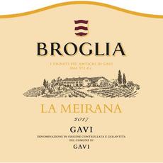 """Broglia """"La Meirana""""  Gavi di Gavi 2019"""