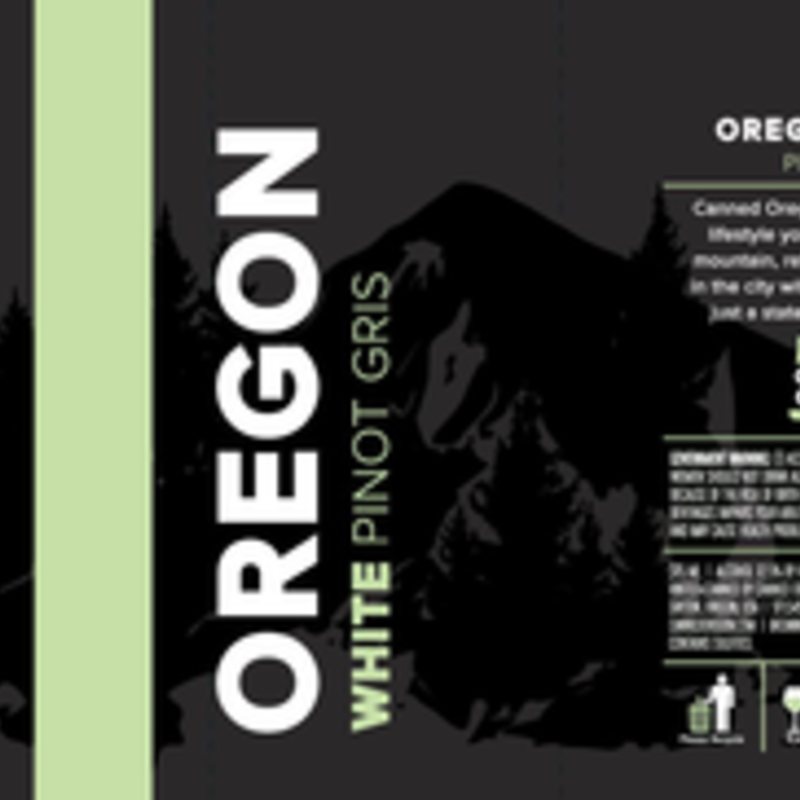 Canned Oregon Pinot Gris 375mL