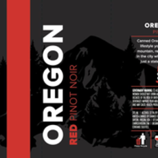 Canned Oregon Pinot Noir 375mL