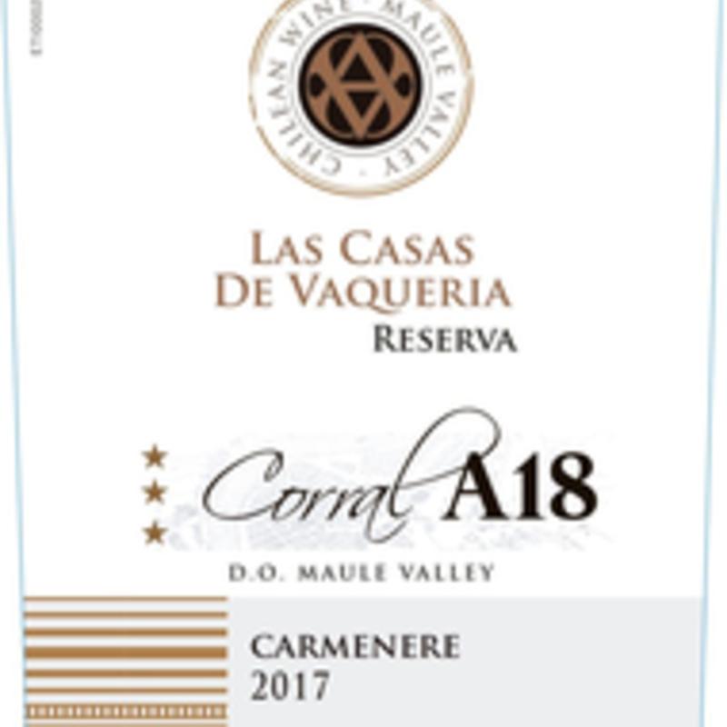 Casas de Vacqueria A18 Carmenere 2019