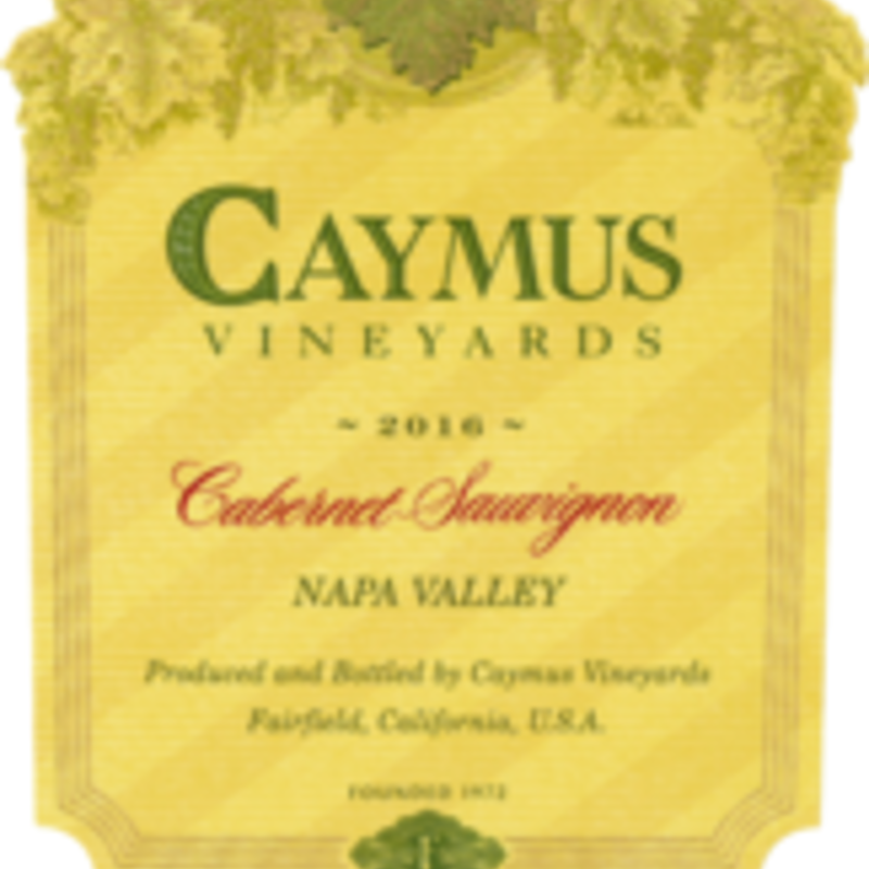 Caymus Vinyeards Cabernet Sauvigon 2019