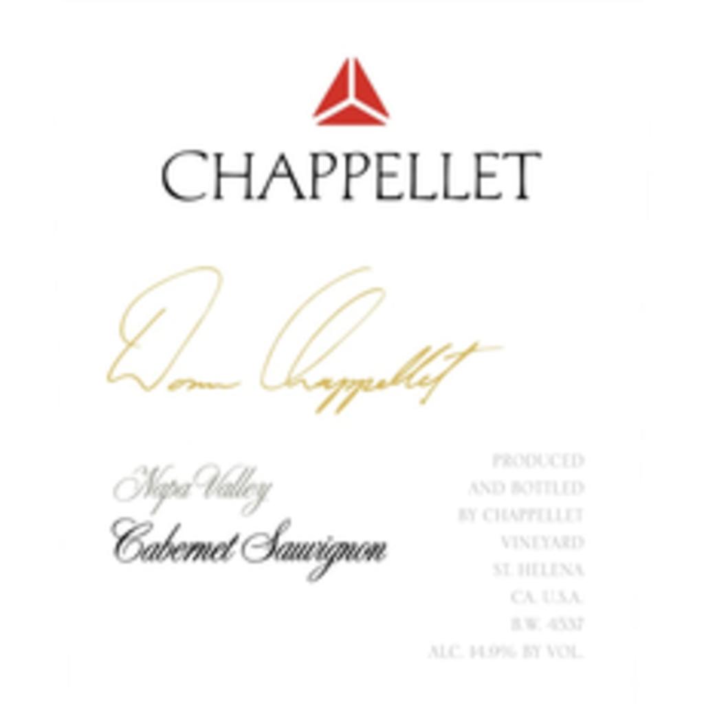 Chappellet Signature Cabernet Sauvignon 2018