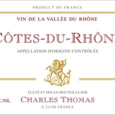 Charles Thomas Cotes du Rhone Rouge 2019