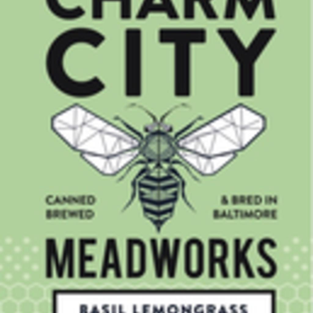 Charm City Meadworks Basil Lemongrass 4pack