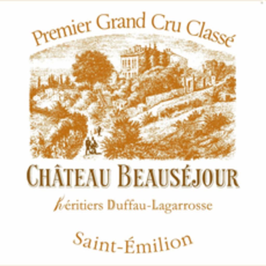Chateau Beausejour Duffau Saint-Emilion 2016