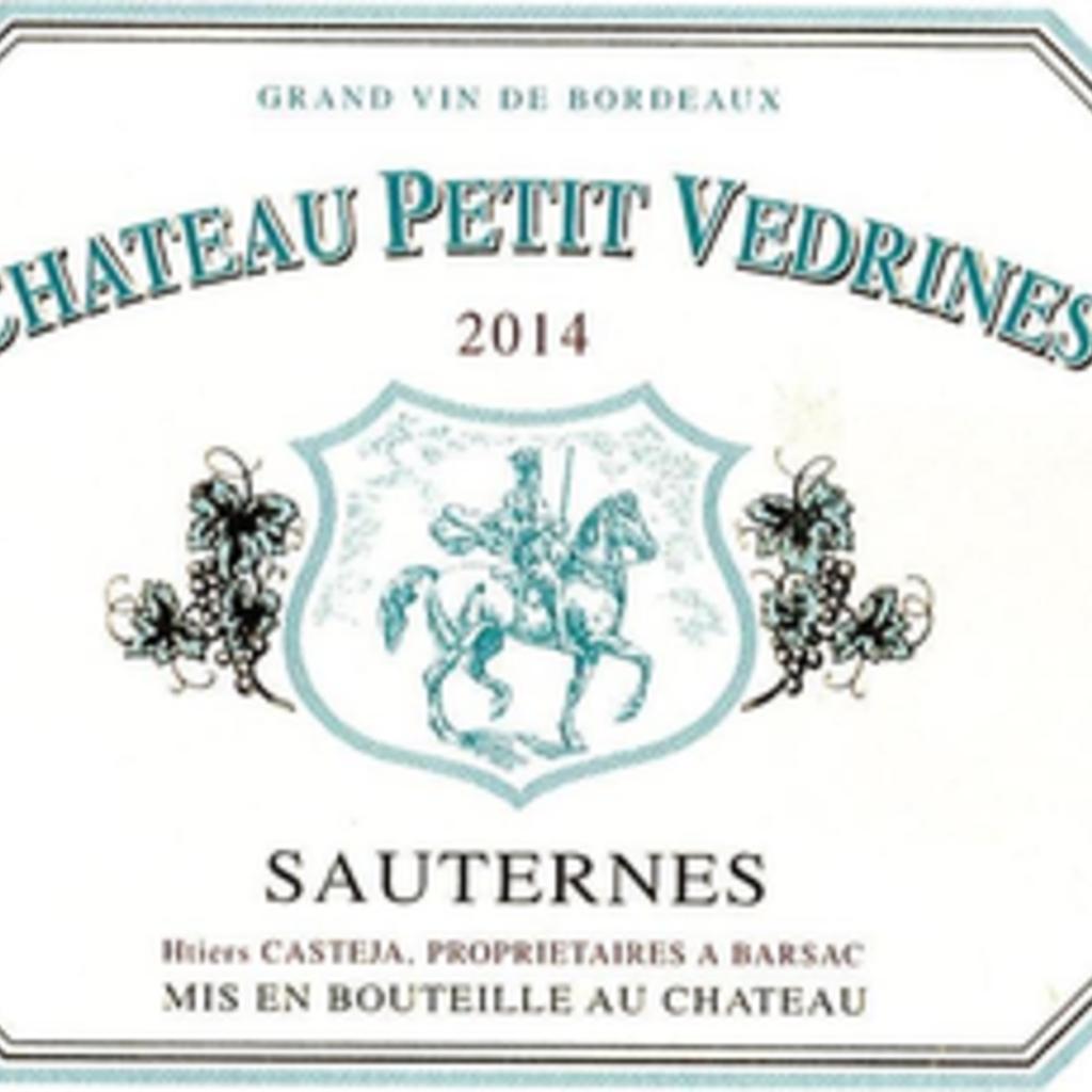 Chateau Doisy Vedrines Sauternes 2014 375mL