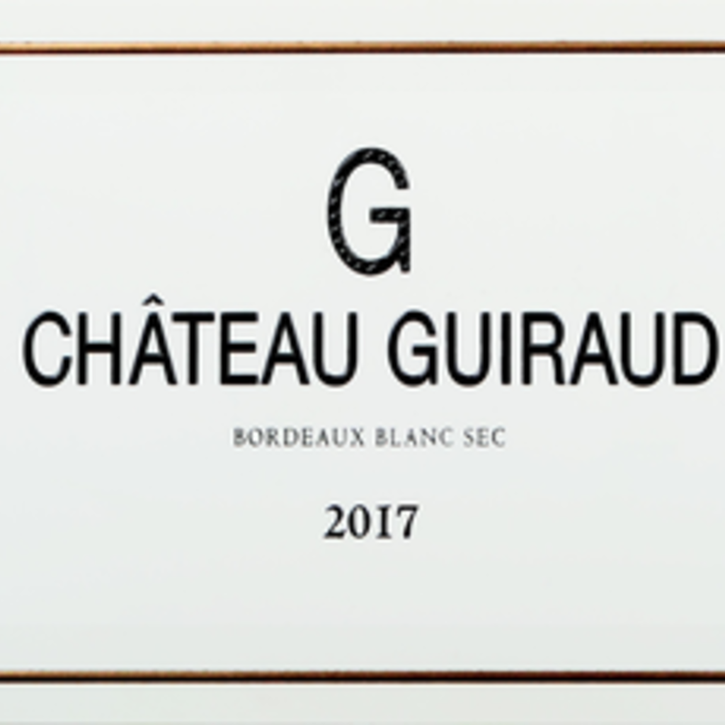"Chateau Guiraud ""G"" Bordeaux Blanc Sec 2019"