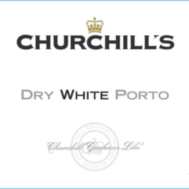 Churchill's Dry White Port NV