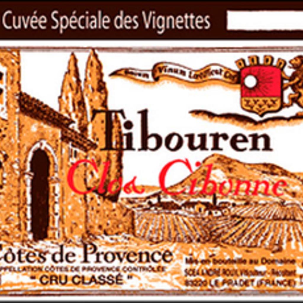 Clos Cibonne Tradition Tibouren Rose 2018 1.5L