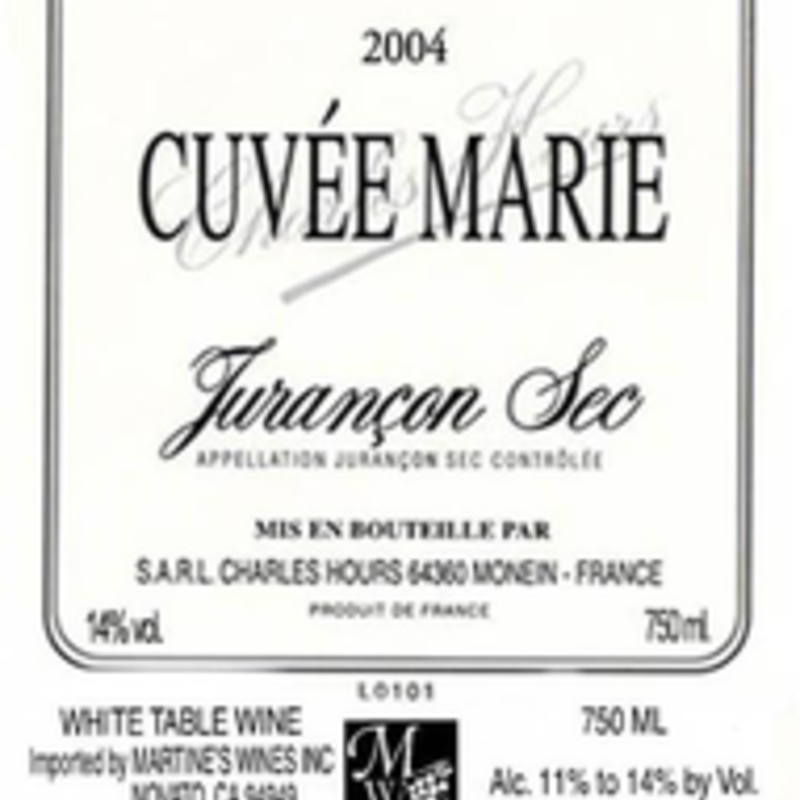 "Clos Uroulat ""Cuvee Marie"" Jurancon Sec 2017"