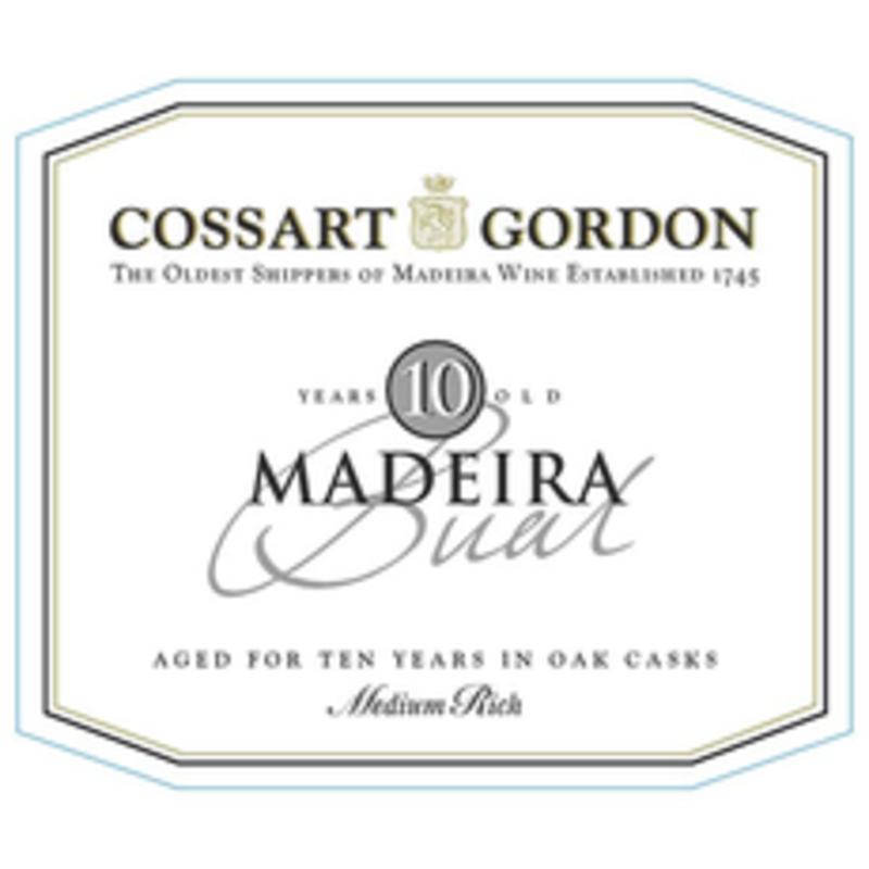 Cossart Gordon 5yr Bual Madeira 750mL