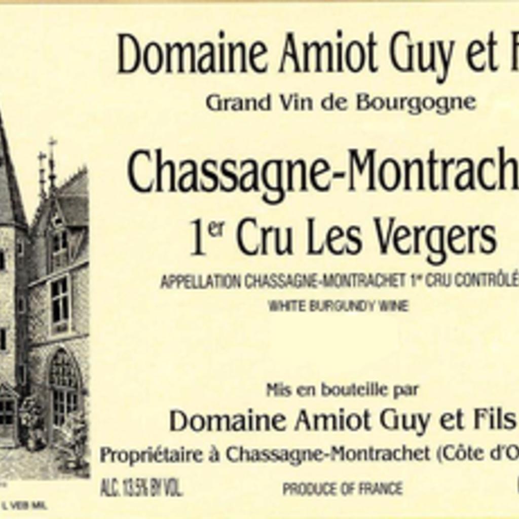Domaine Amiot Guy et Fils Chassagne-Montrachet 1er Cru Les Vergers 2016