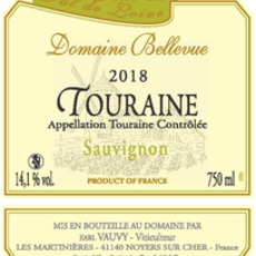 Domaine Bellevue Touraine Sauvignon Blanc 2020