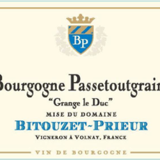 Domaine Bitouzet-Prieur Bourgogne Passetoutgrain 2018