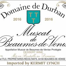 Domaine de Durban Muscat Beaumes de Venise 2015