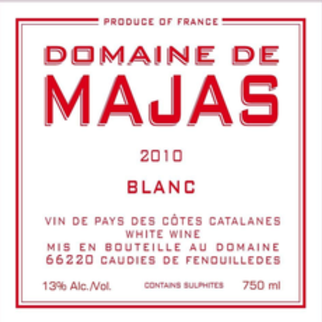 Domaine de Majas Blanc 2019