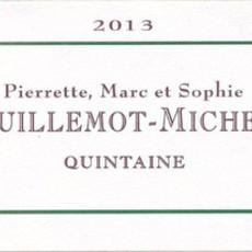 """Domaine Guillemot Michel """"Quintaine"""" Vire Classe 2018"""