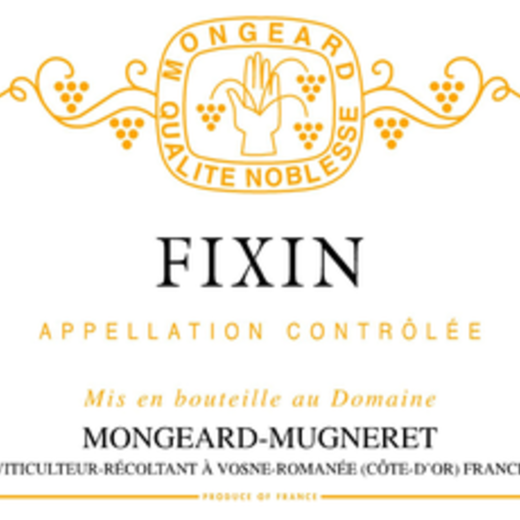 Domaine Mongeard-Mugneret Fixin 2017