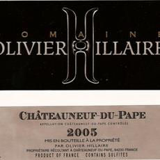 Domaine Olivier Hillaire Chateauneuf-du-Pape Classique 2017