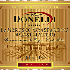Donelli Lambrusco Grasparossa di Castelvetro Amabile NV