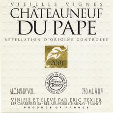 Eric Texier Chateauneuf-du-Pape Blanc Vieilles Vignes  2017