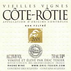 Eric Texier Cote-Rotie Vieilles Vignes 2017