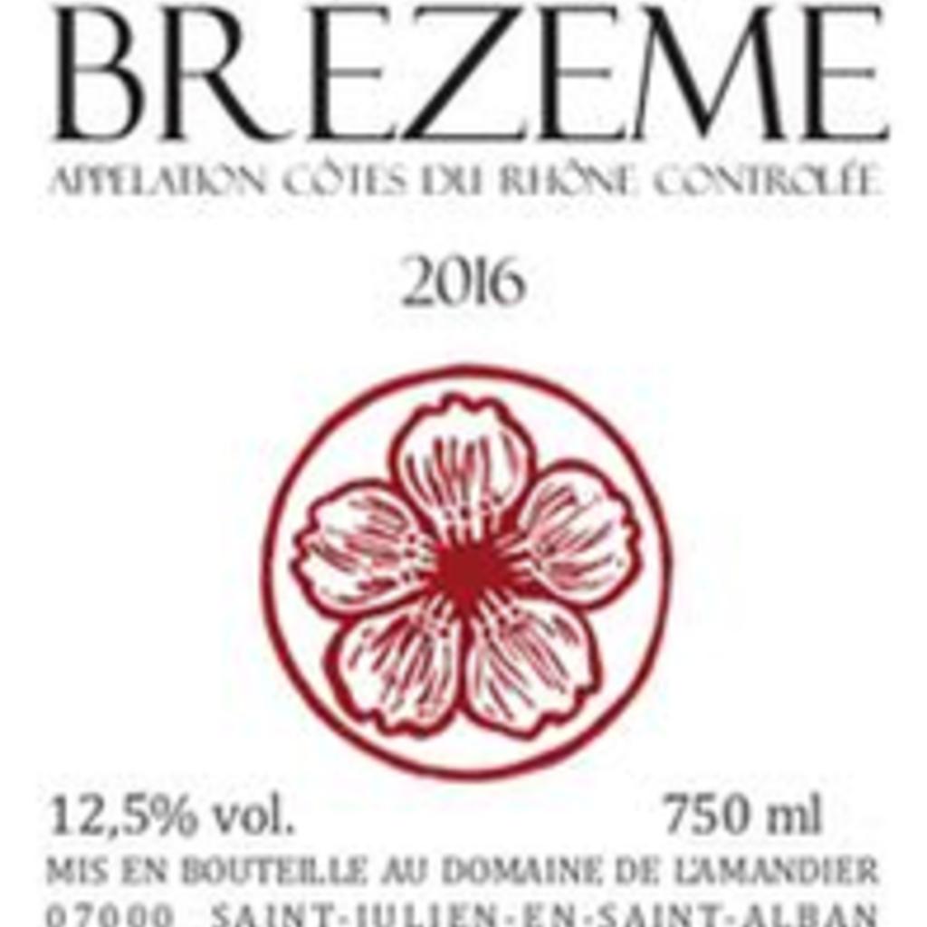 Eric Texier Cotes du Rhone Brezeme Rouge 2018