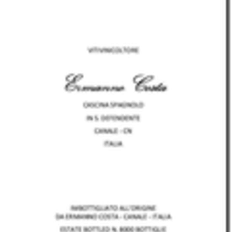 Ermanno Costa Roero Arneis 2020
