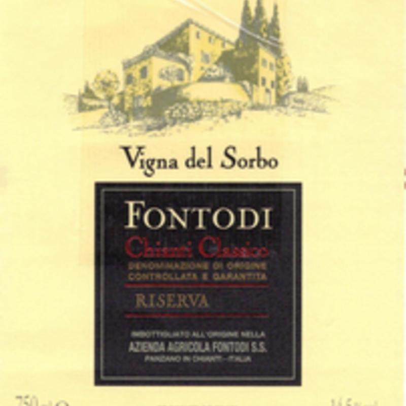 """Fontodi """"Vigna del Sorbo"""" Chianti Classico Gran Selezione Chianti Classico 2008"""