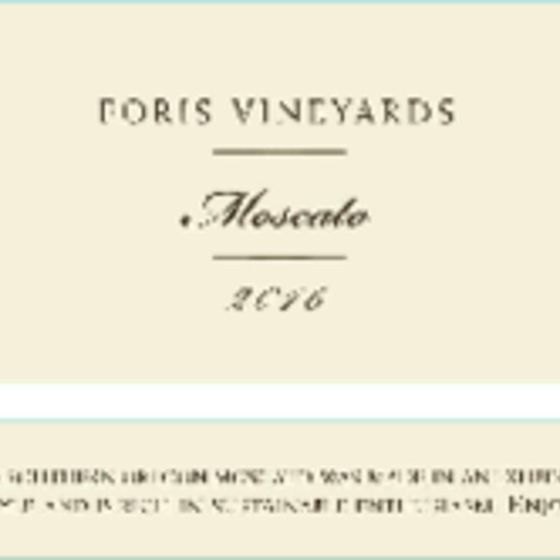 Foris Vineyards Moscato 2018