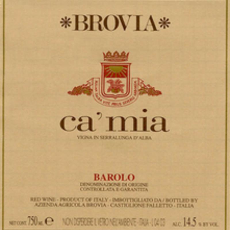 Fratelli Brovia Brea Vigna Ca'Mia Barolo 2016